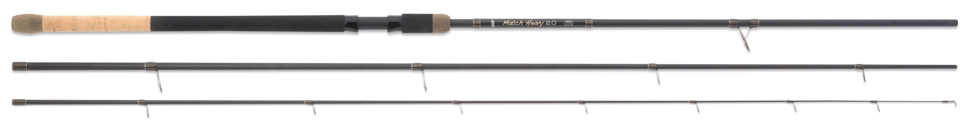 MS Range prut Match Heavy 2.0, 3,9 m, 30 g