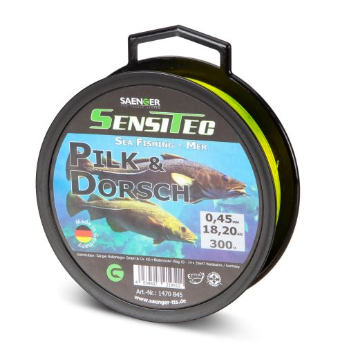 Vlasec Saenger pilk and dorsh (treska) průměr: 0,45 mm