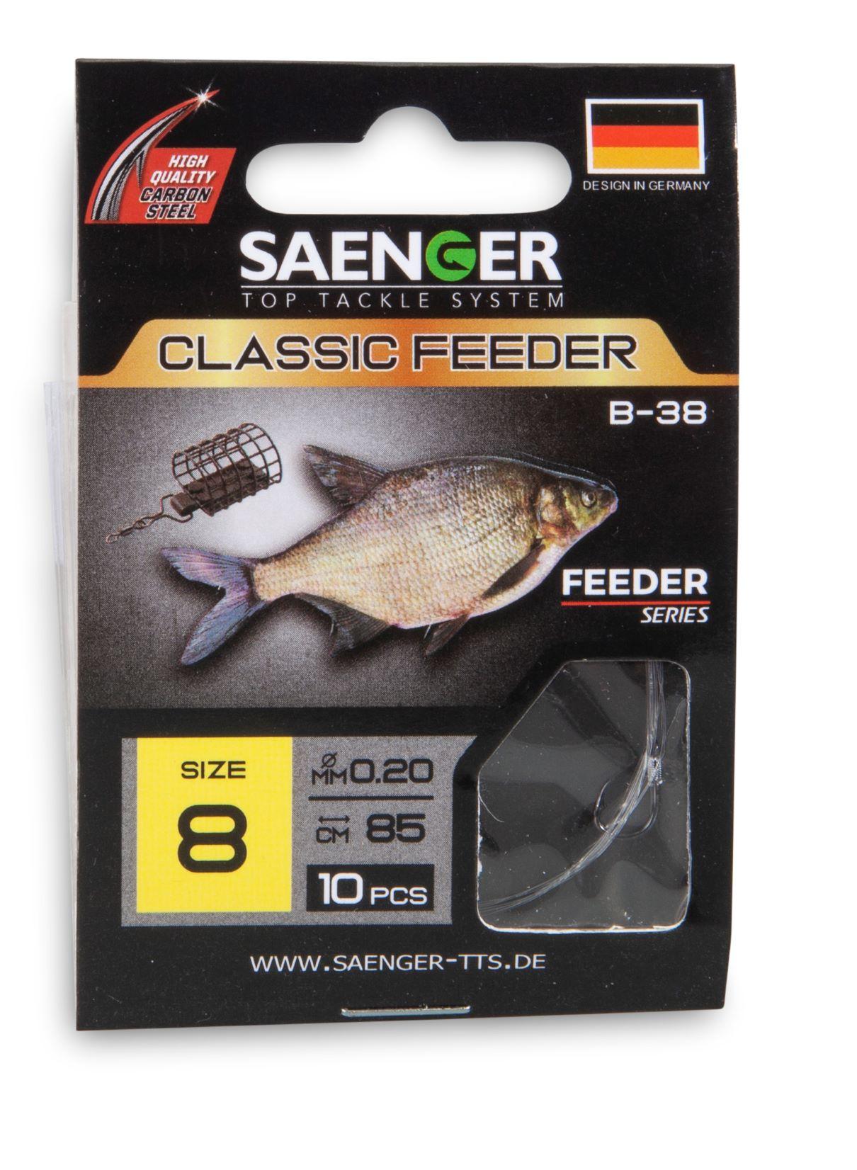 Saenger Návazec na feeder Classic Feeder vel. 16, 10 ks/bal