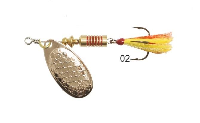 Mistrall rotační třpytka Ospray Fly vel. 4, 10 g, vzor: 02