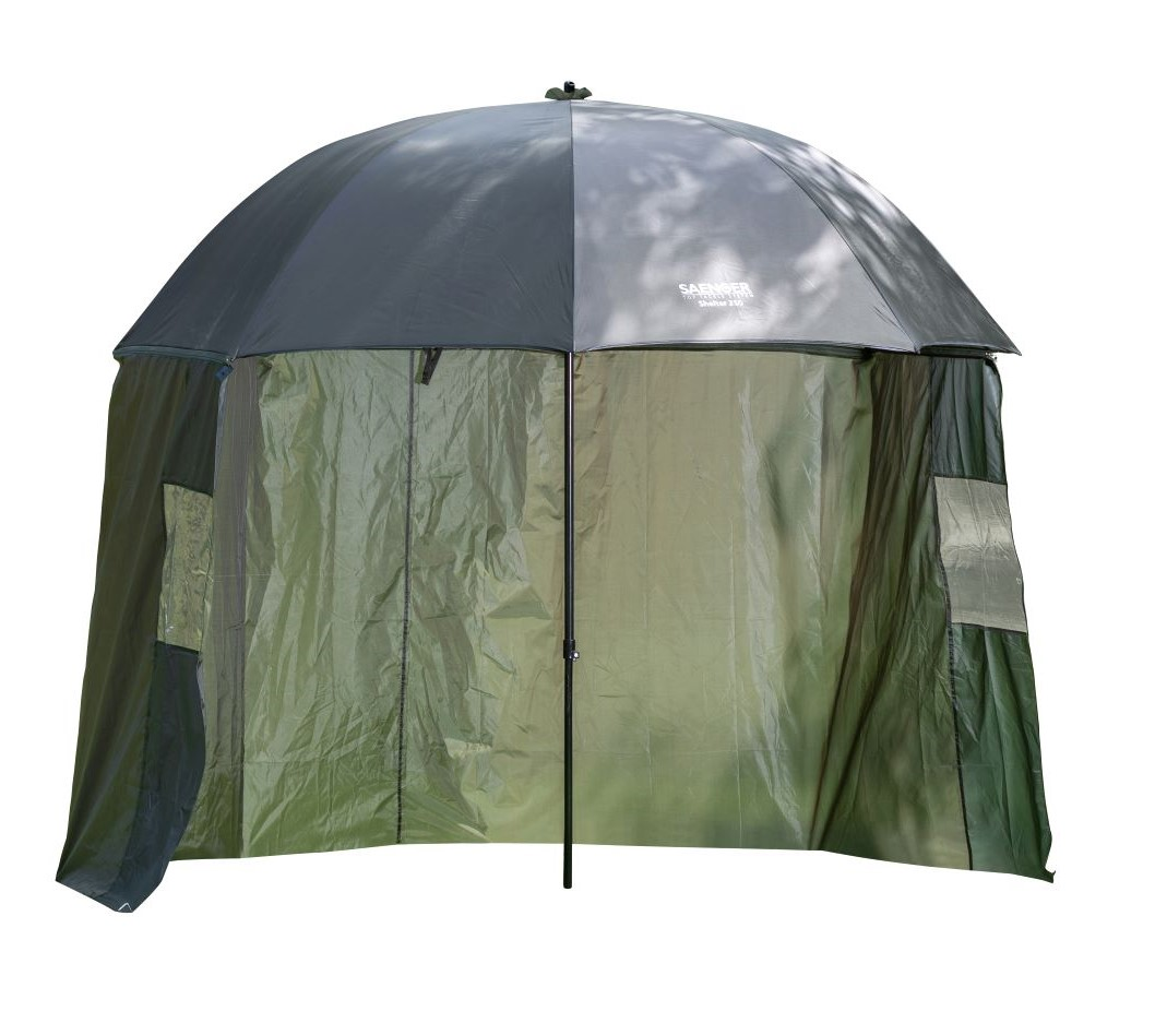 Deštník s bočnicí Saenger Shelter obvod 250 cm