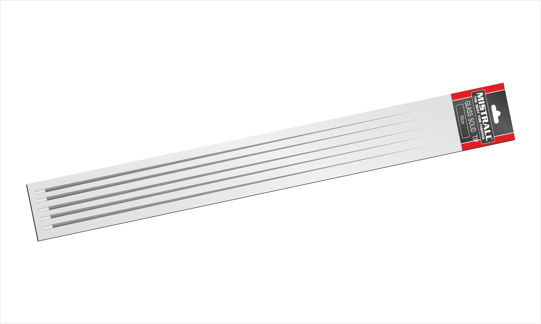 Mistrall náhradní špička na prut plná 0,9 x 5 x 600 mm, 5ks/bal