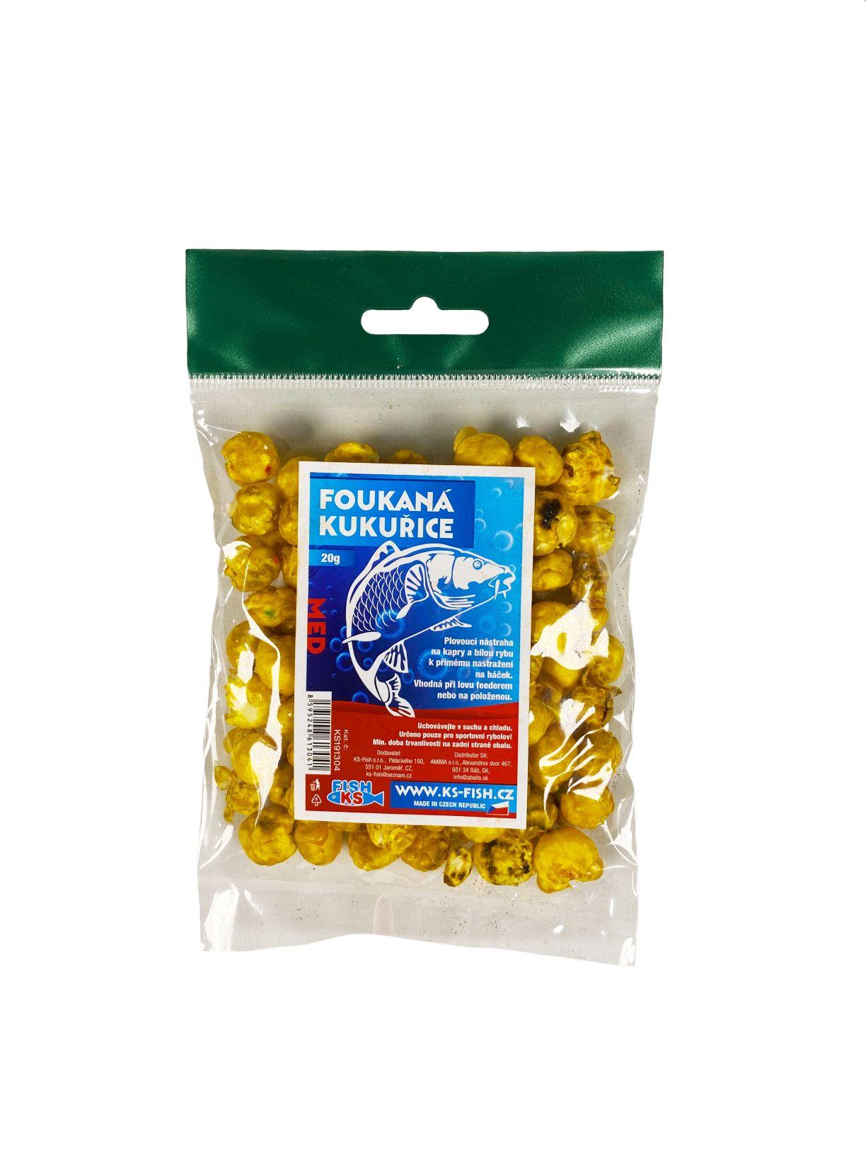 KS Fish foukaná kukuřice 20g, med