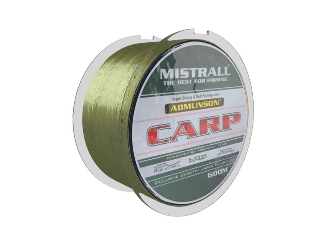 Mistrall vlasec Admunson – Carp camou 600 m, průměr 0, 35 mm