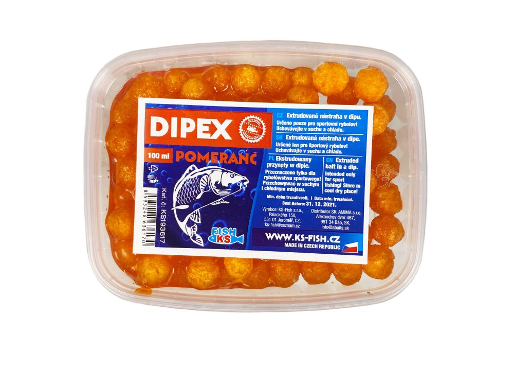 Dipex 100 ml, pomeranč