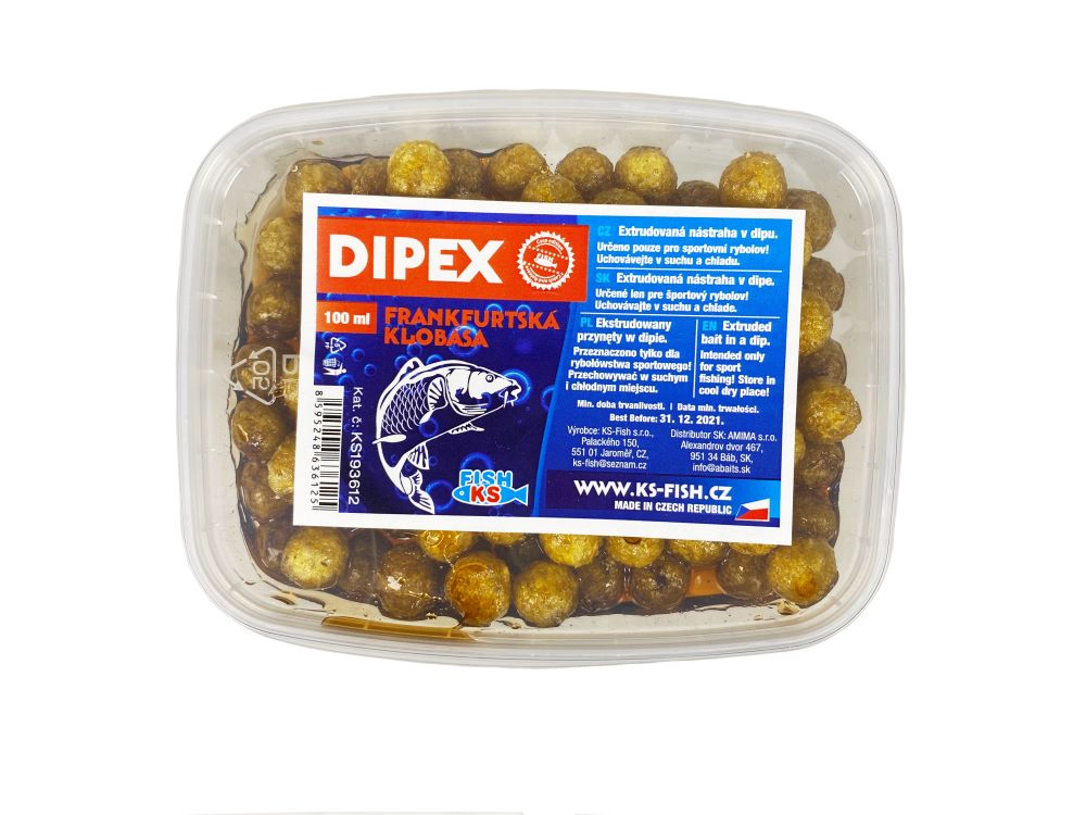 Dipex 100 ml, frankfurtská klobása