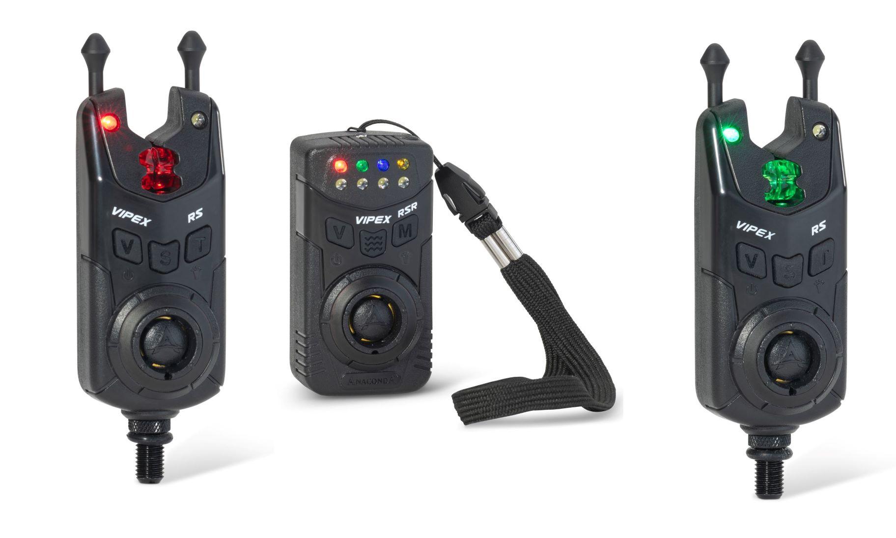 Anaconda sada 2 hlásičů s příposlechem Vipex RS (červená. zelená)