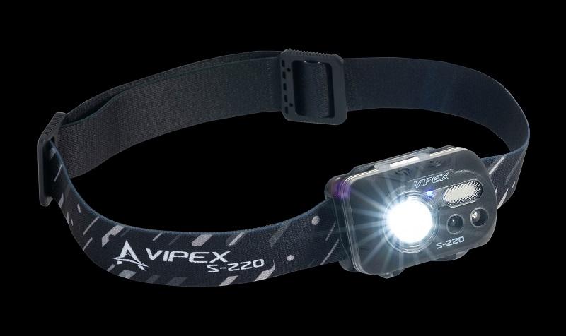 ANACONDA čelová svítilna Vipex S-220