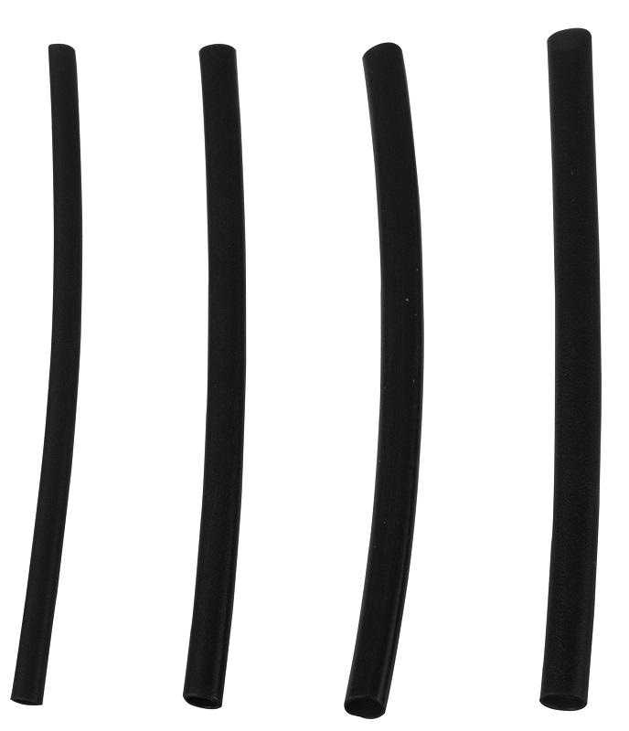 Anaconda zmršťovacia bužírka malá (1.6 mm x 50 mm). čierna