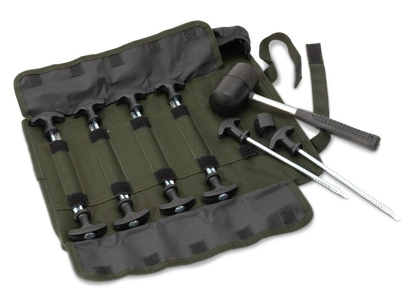 Saenger - Anaconda sada kolíků a palice Storm Kit