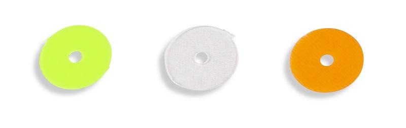 Iron Claw zarážka Provider Bait Disc 9 mm červená