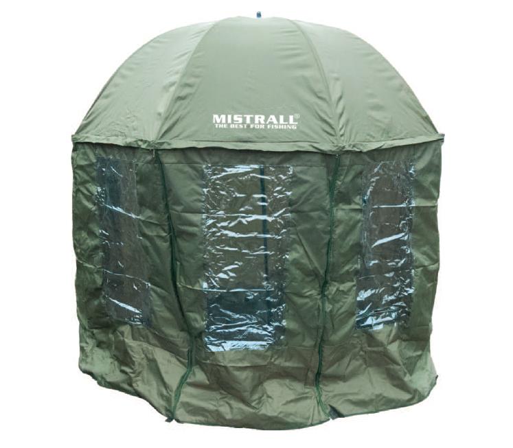 Mistrall - Mistrall rybářský deštník PARASOL 2,50M PVC 8 SHALTER 3