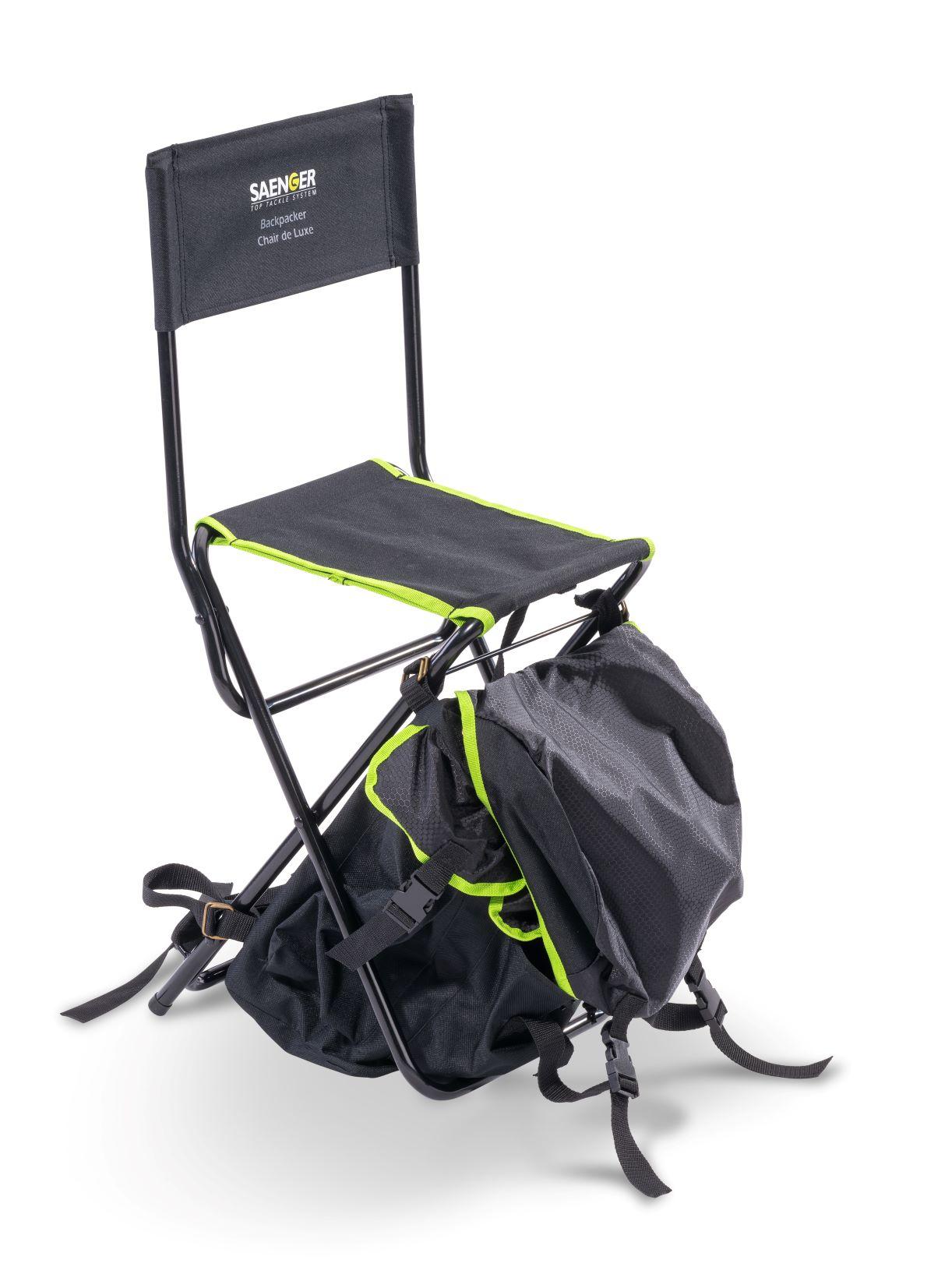 Saenger židlička s batohem Backpacker Chair De Luxe