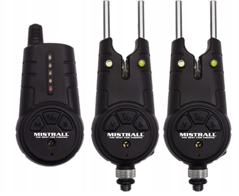 Mistrall sada signalizátorů OXO 2+1, červená, zelená
