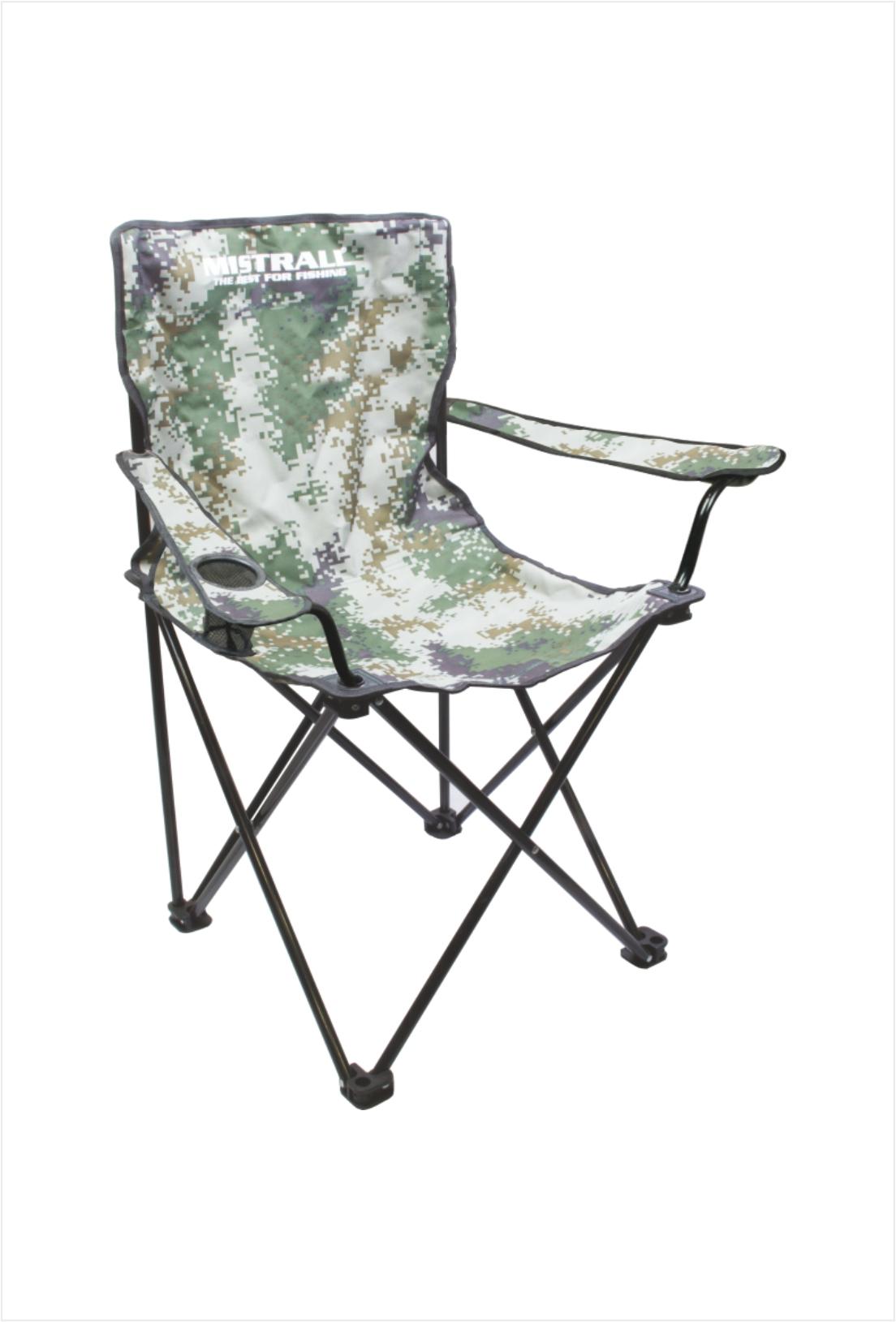 Mistral rybářská židle vel. L, Maskáč