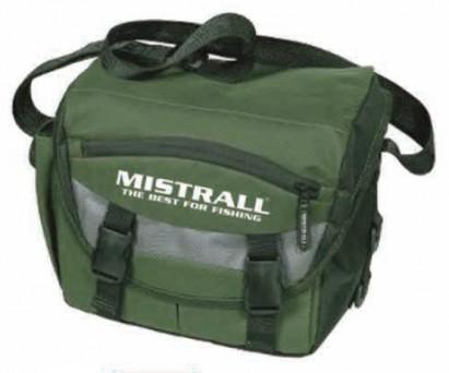 Mistrall rybářská taška 26x16x25, zelená