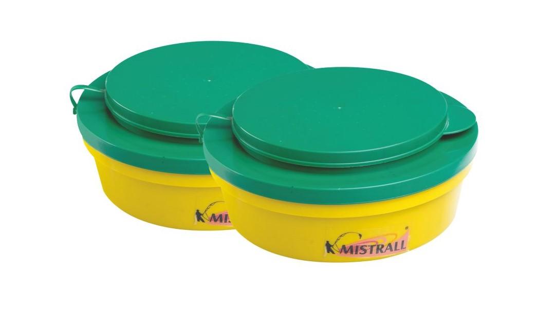 Mistrall krabička na červy, 160x65 mm