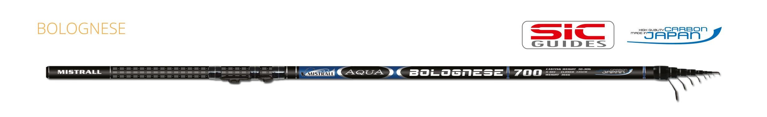 Mistrall prut aqua bolognese, 7 m