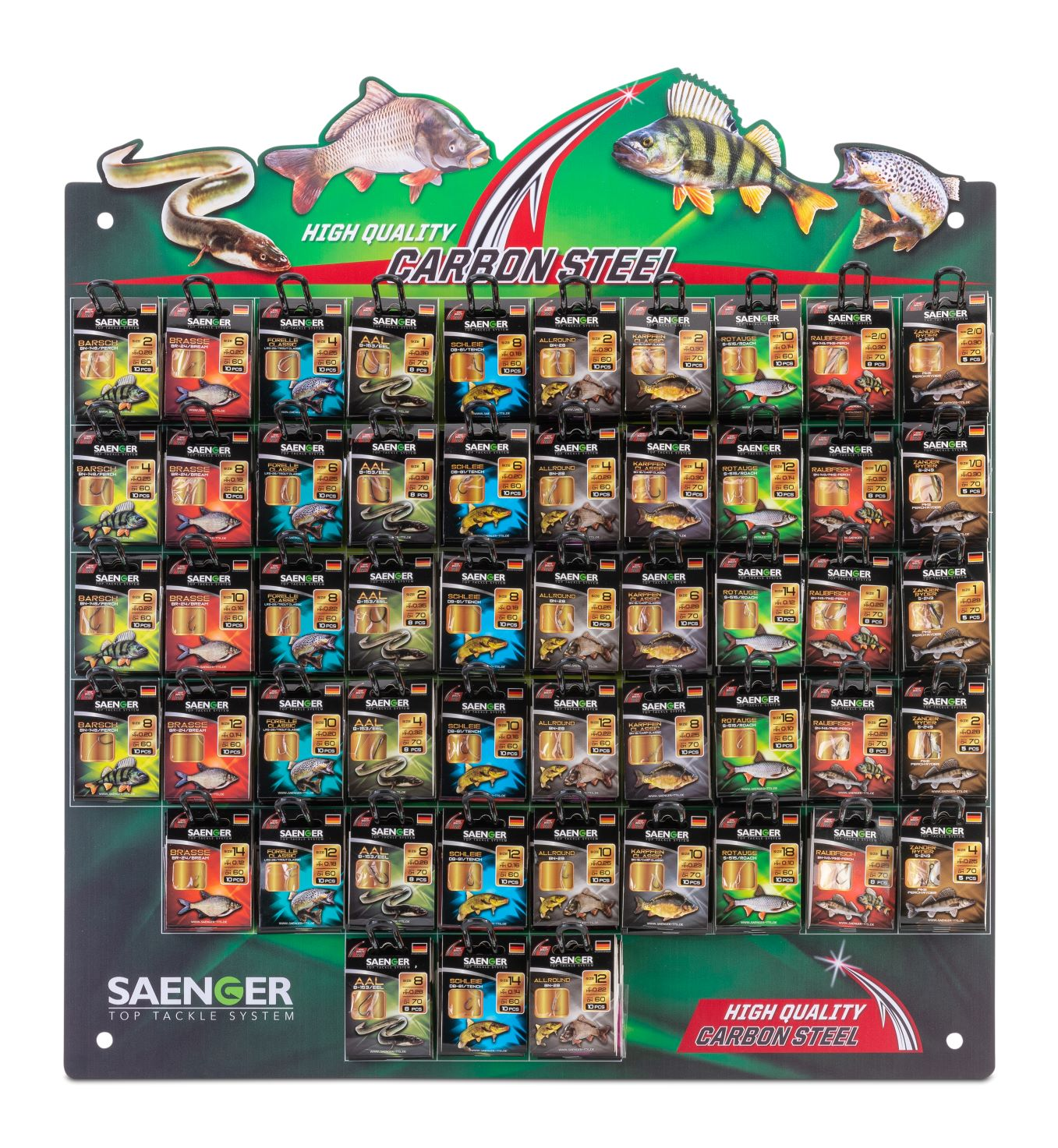 Saenger stojan s háčky (520 balení)