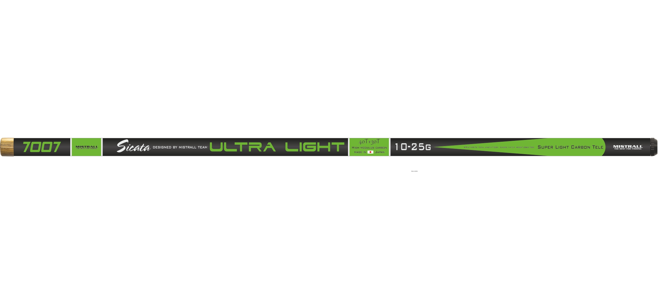 Mistrall bič Sicata Pole Ultra Light, 8 m