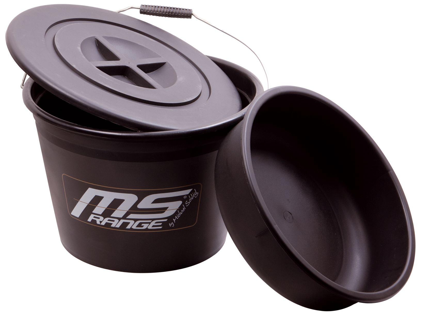 MS Range kyblík na krmení s miskou a víkem