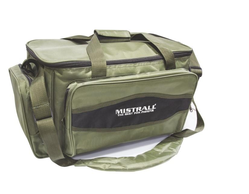 Mistrall rybářská taška s kapsami, 45x24x28 cm, zelená