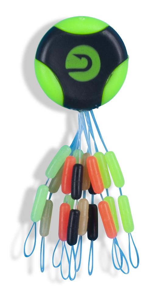 Saenger silikonové zarážky Multicolor dlouhé vel. S