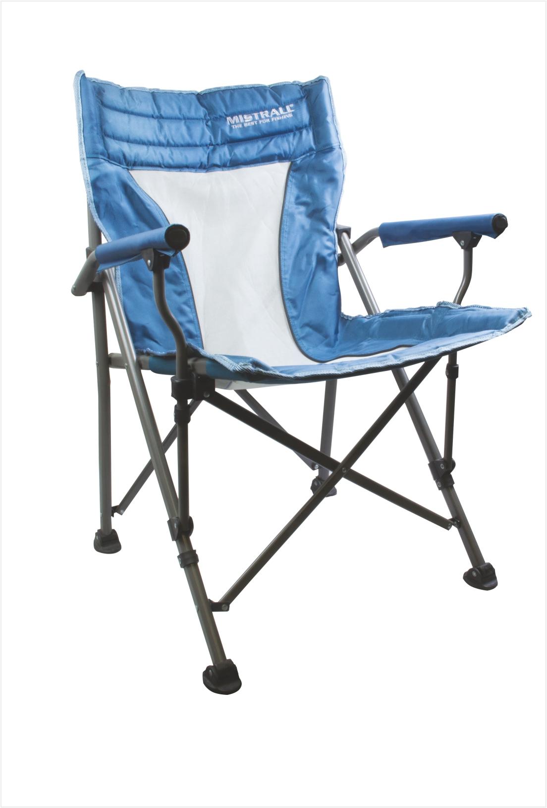 Mistrall rybářská židle modrá