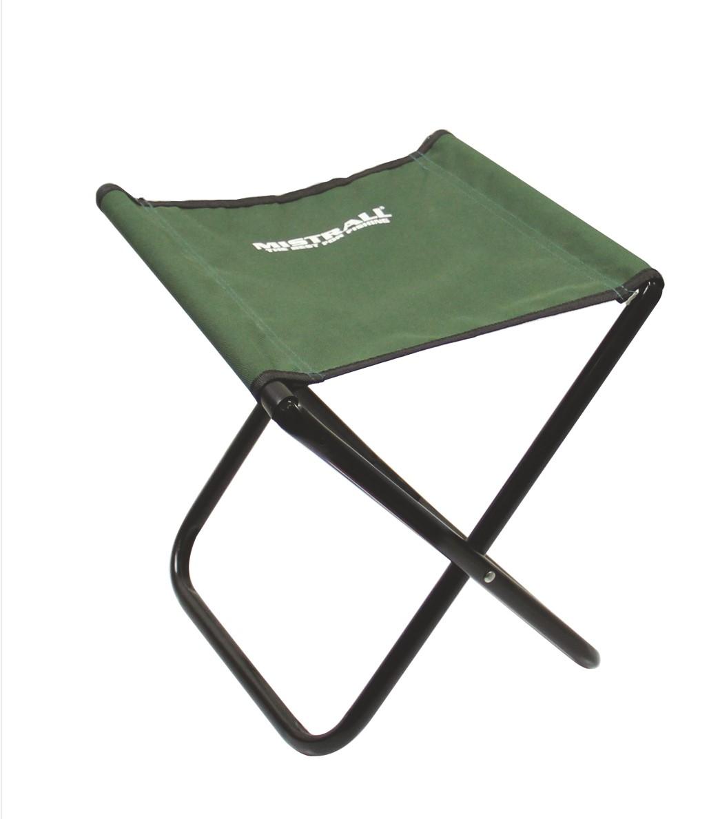 Mistrall židlička bez opěradla M, zelená