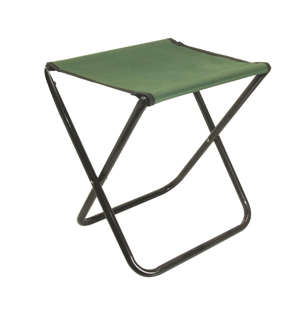 Mistrall židlička bez opěradla L, zelená