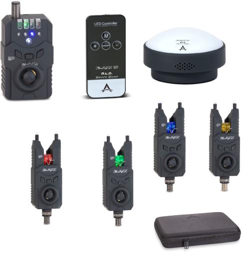 Anaconda sada hlásičů s příposlechem a světlem do bivaku 4+1 Blaxx IP PRO