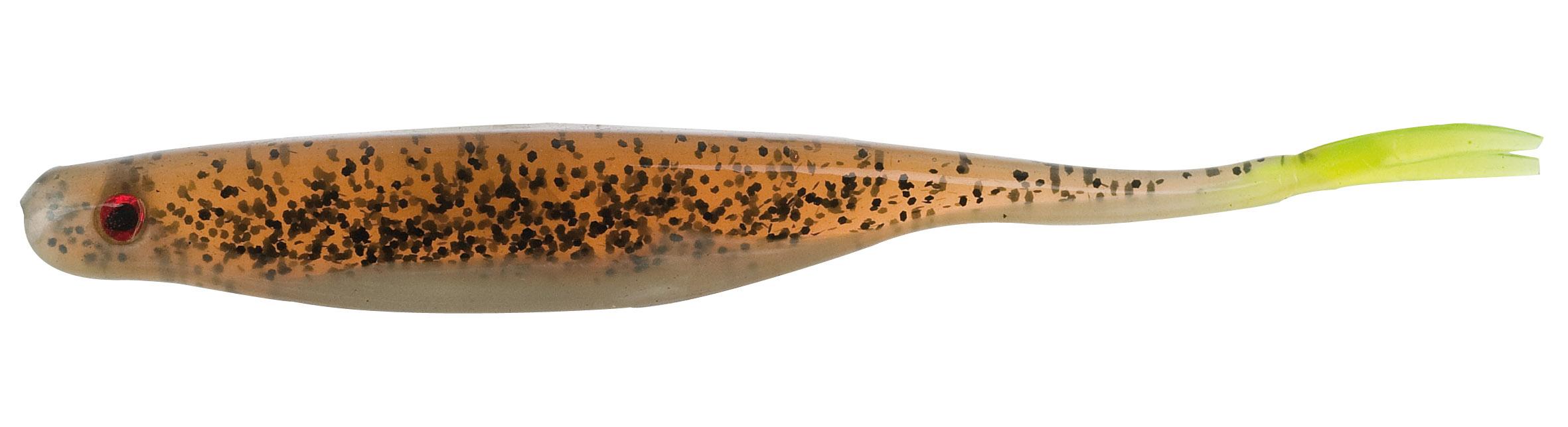 Iron Claw gumová nástraha Premium Split Tail 10 cm Vzor BP, 4ks/bal