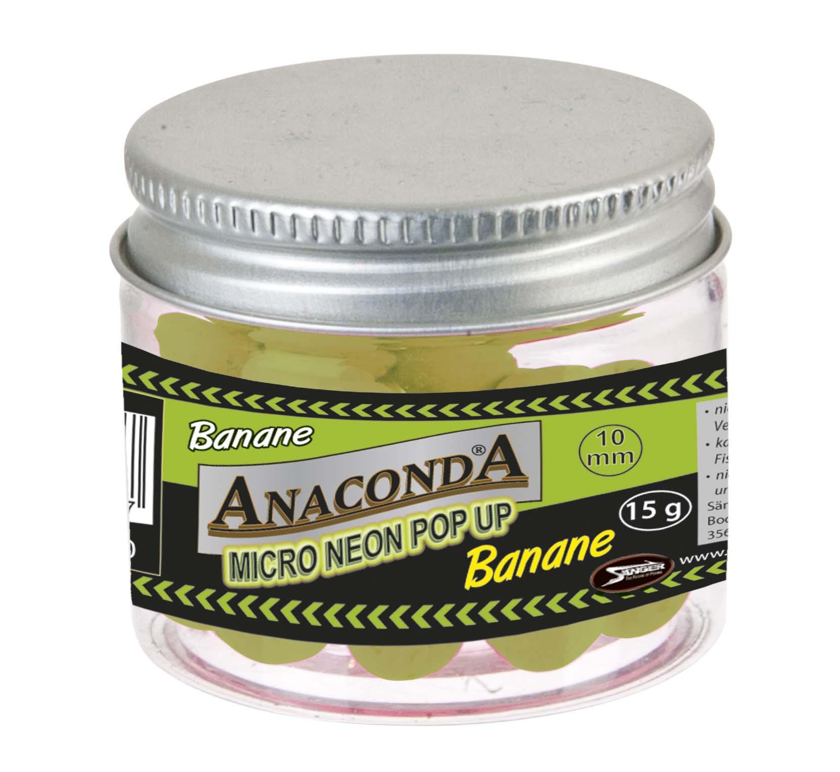 Micro neon pop-up s príchuťou Anaconda - Banán