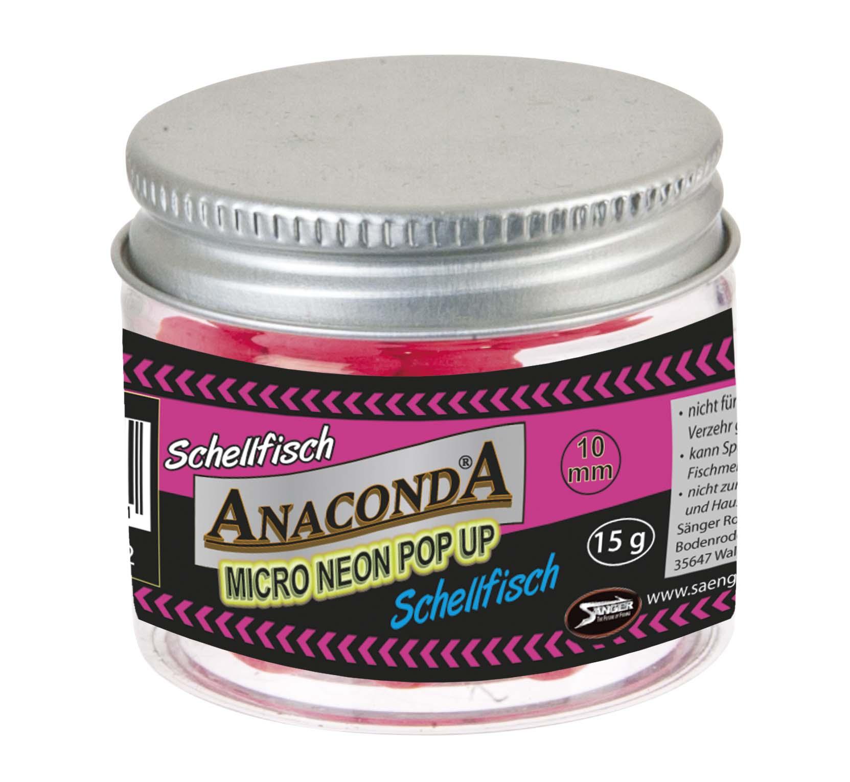 Micro neon pop-up s príchuťou Anaconda - Treska
