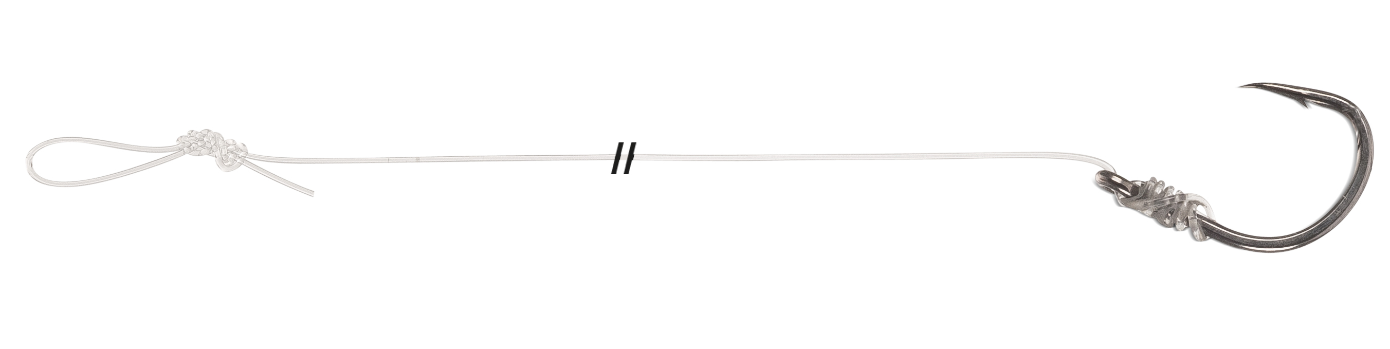 Návazec Uni Cat  S-Hook Mono Rig Velikost 2/0