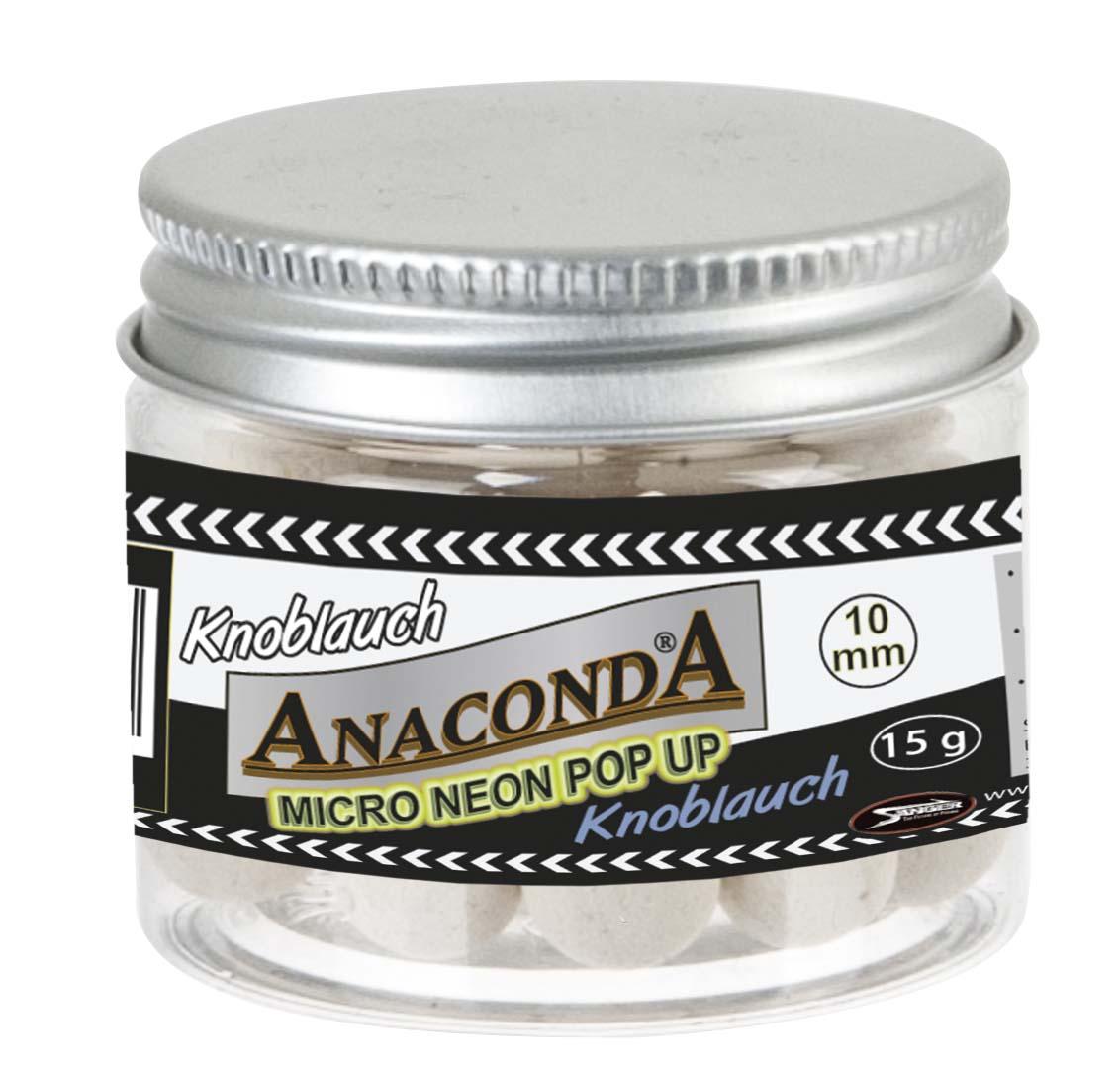 Micro neon pop-up s príchuťou Anaconda - Cesnak