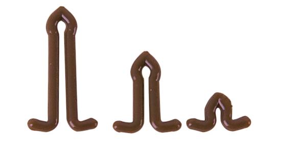 Anaconda zarážka na bolie Extented Bait Stops Barva hnědá