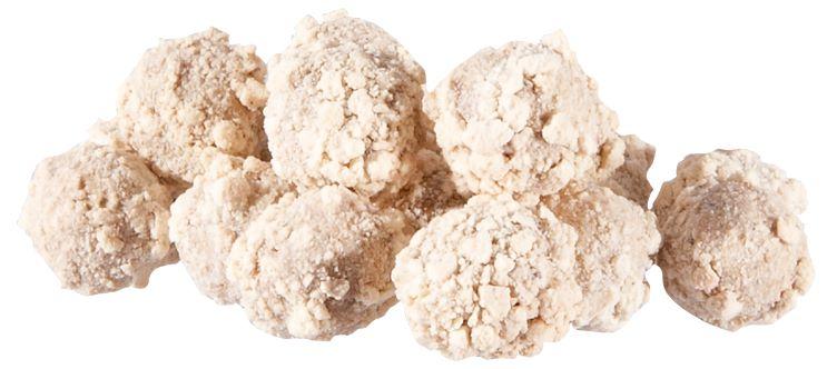 Křupavé boilies MS Range Fluo crispy boilies  Příchuť kokos
