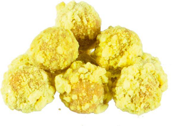 Křupavé boilies MS Range Fluo crispy boilies  Příchuť Ananas