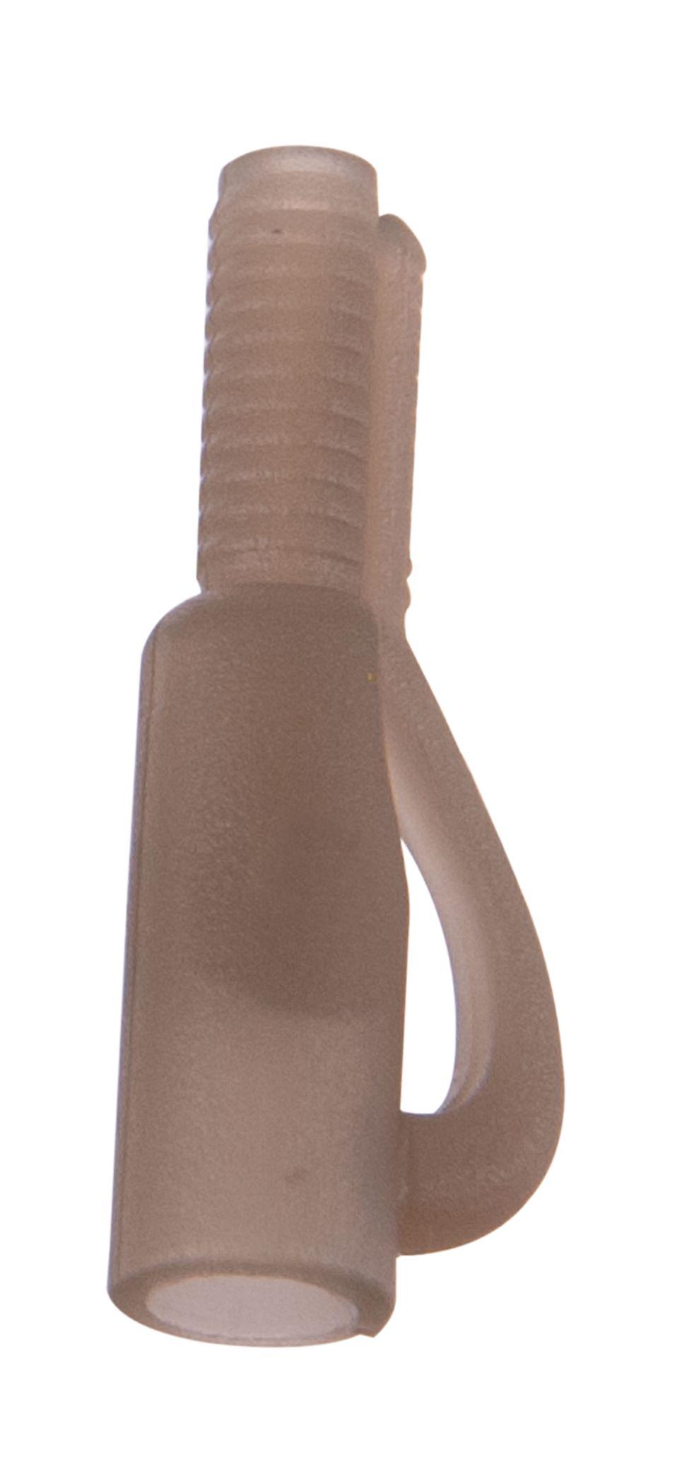 Anaconda klip Safety Lead Clip Barva světle hnědá, 10ks/bal