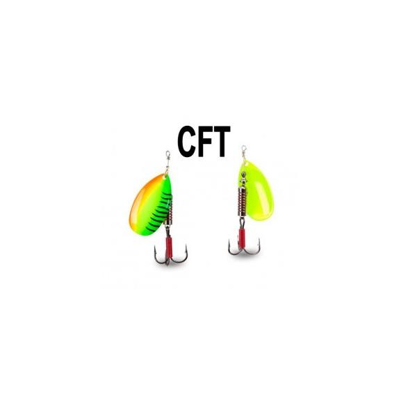 Iron Claw rotační třpytka F - Blade Spinner 2,5 g Vzor CFT