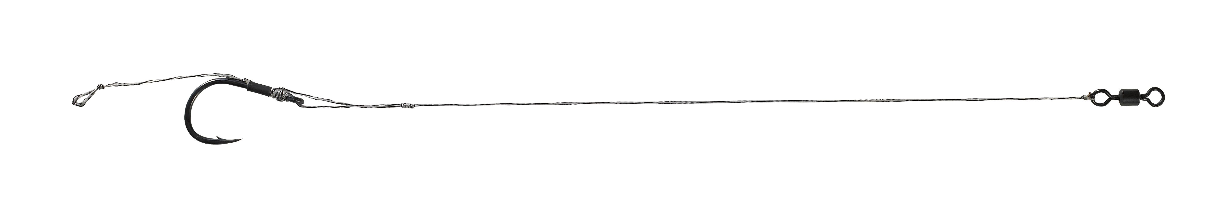 Nadväzec Anaconda Adjustable Hair Rig s protihrotom č.2