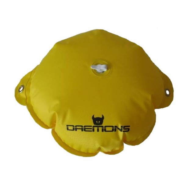 Kulatá, nafukovací bojka Daemons Barva žlutá