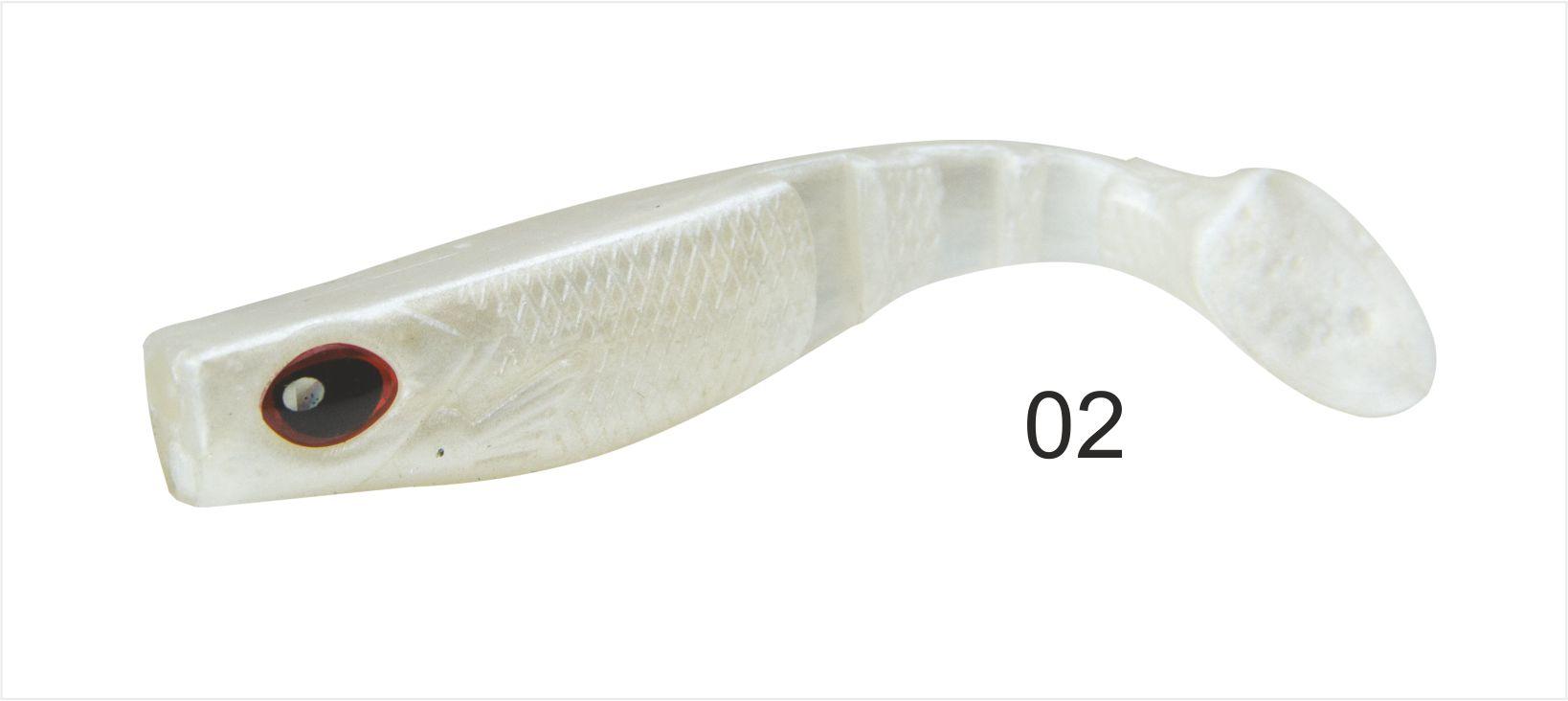 Mistrall gumová nástraha Dominátor 6,5 cm Možnost 02