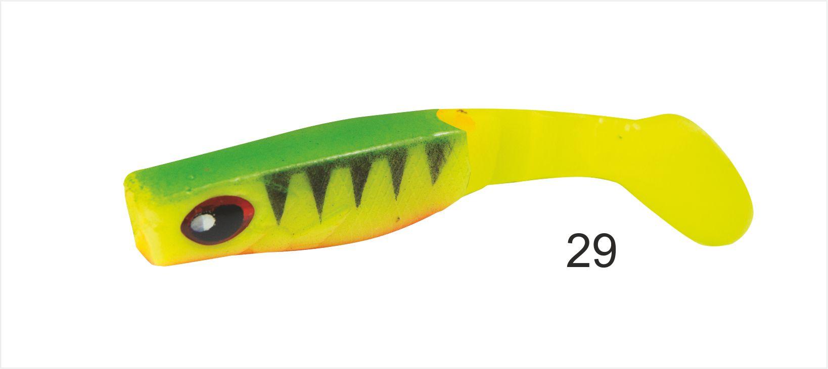 Mistrall gumová nástraha Dominátor 6,5 cm Možnost 29