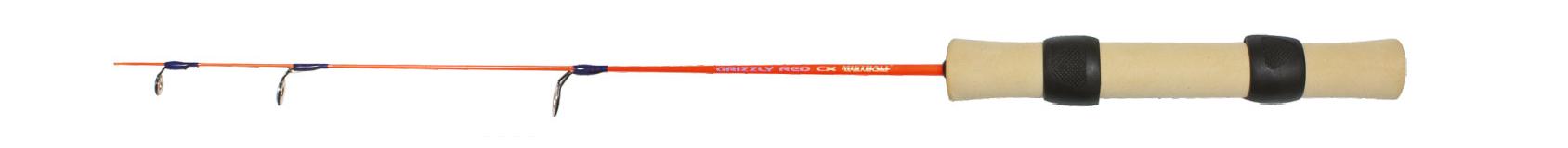 Mistrall prut pro lov pod ledem Grizzly Ice CX Red Velikost 70 cm