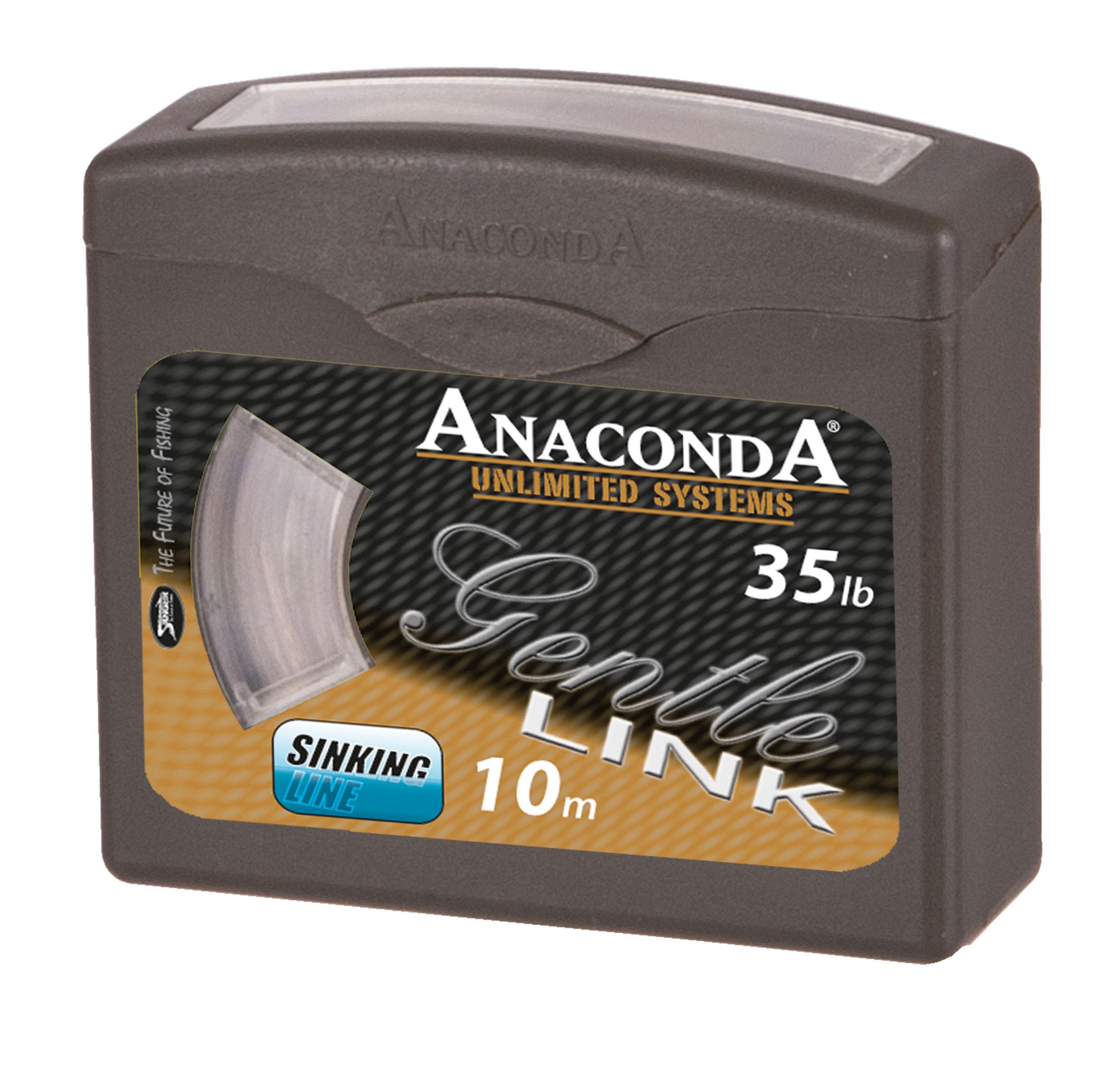 Pletená šňůra Anaconda Gentle Link Nosnost 35 liber