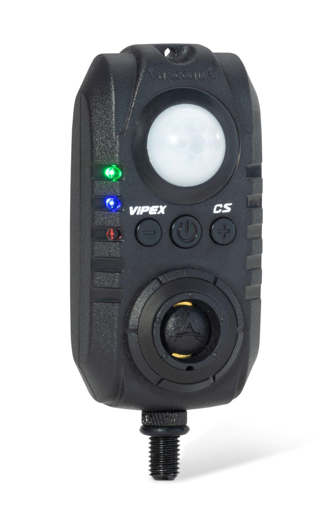 Anaconda sada 4 hlásičů s příposlechem, čidlem pohybu, světlem a dálkovým ovládáním Vipex RS profi set (červená, zelená, modrá, žlutá)