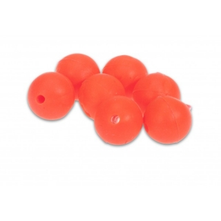 Korálky Aquantic Red Rubber Beads Velikost 8 mm