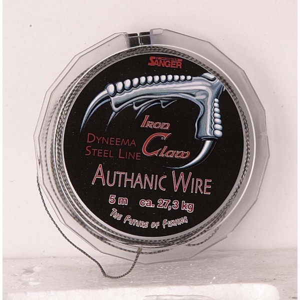 Návazcové lanko Iron Claw Authanic Wire 5m průměr: 0.30 mm